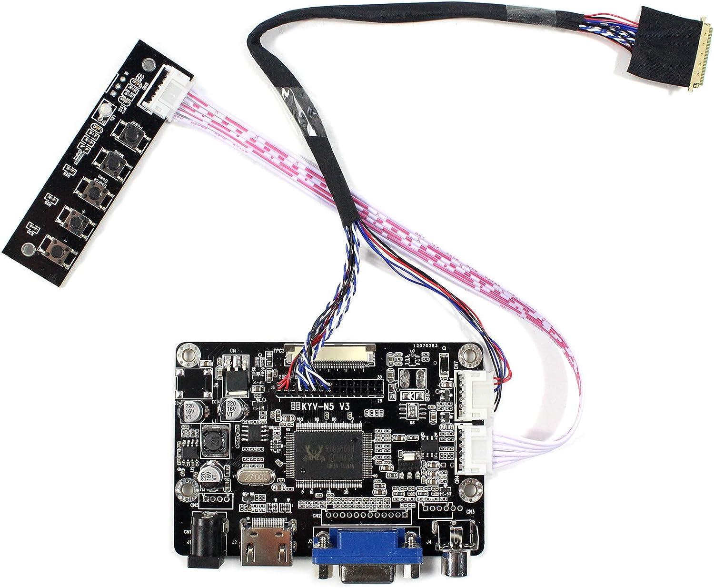 VGA HDMI AV LCD Controller Driver Board For 15.6 B156XW02//LP156WH2 1366x768