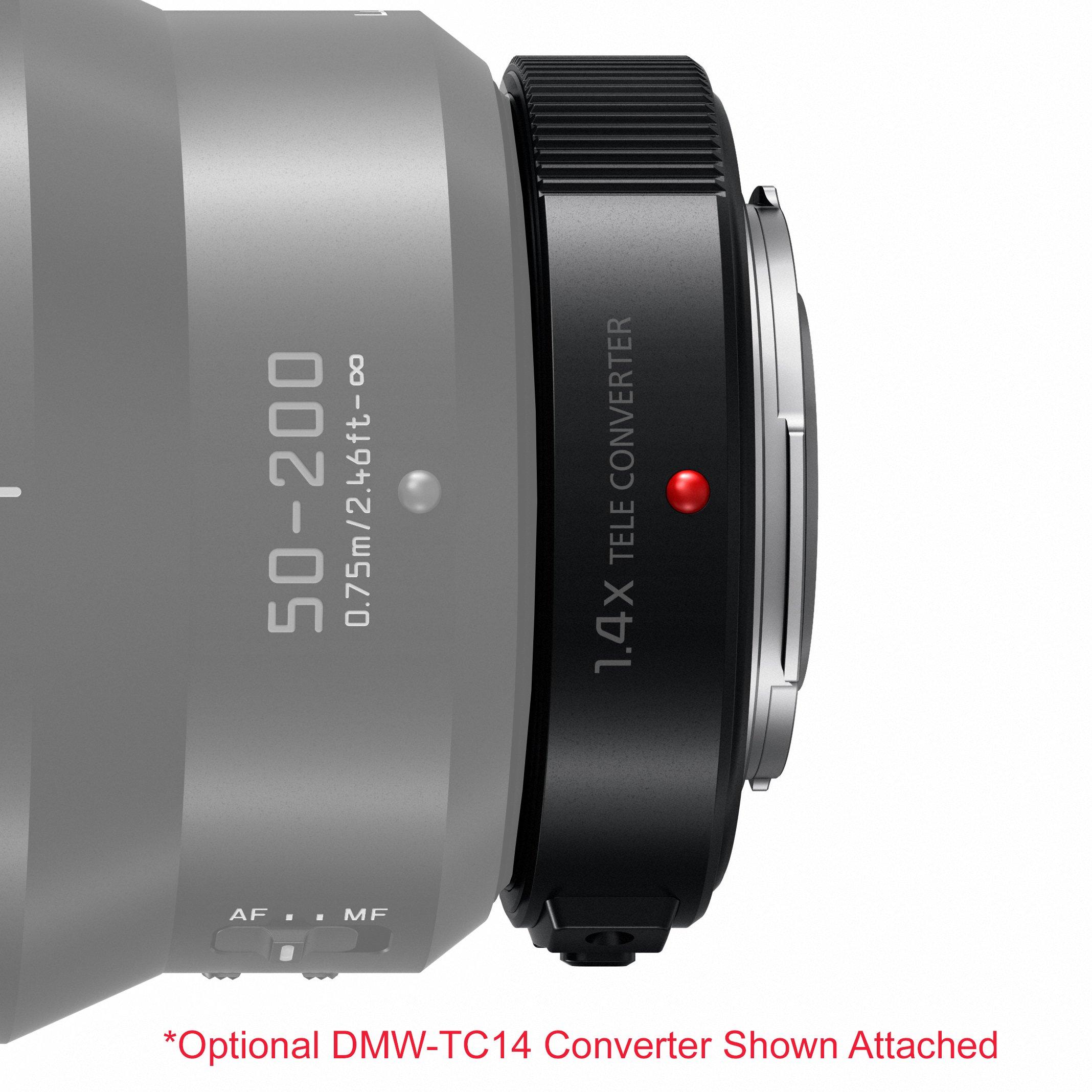 Panasonic H Es50200 Lumix G Leica Dg Vario Elmarit Professional Lens 200mm F 28 Power Ois 50 F28 40 Asph Mirrorless Micro Four Thirds Black