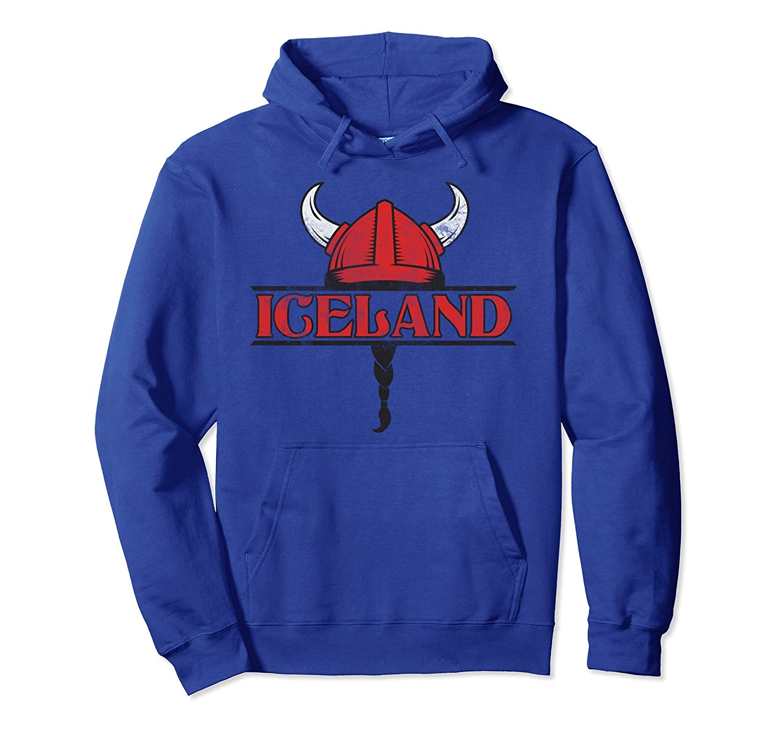 2018 Iceland World Soccer Championship Vintage Fan Hoodie-mt