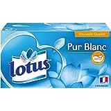 Lotus Pur Blanc Mouchoirs x 90
