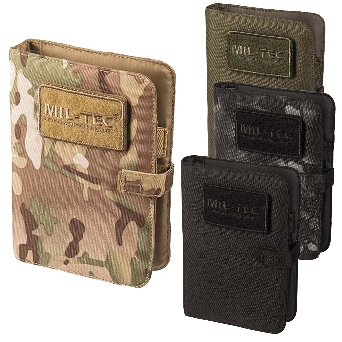 Mil-tec Tactical Notebook Medium Multitarn Notizbuch Notebooktaschen Taschen
