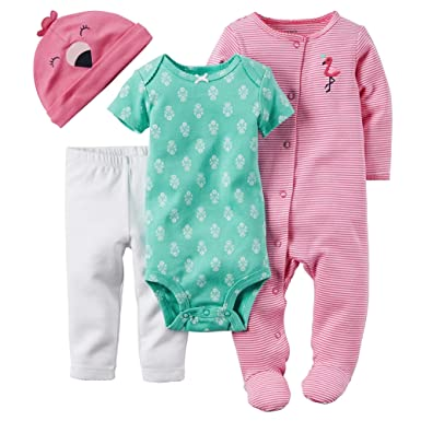e388b0c9ffbc Image Unavailable. Image not available for. Color  Carter s Pink Flamingo  ...