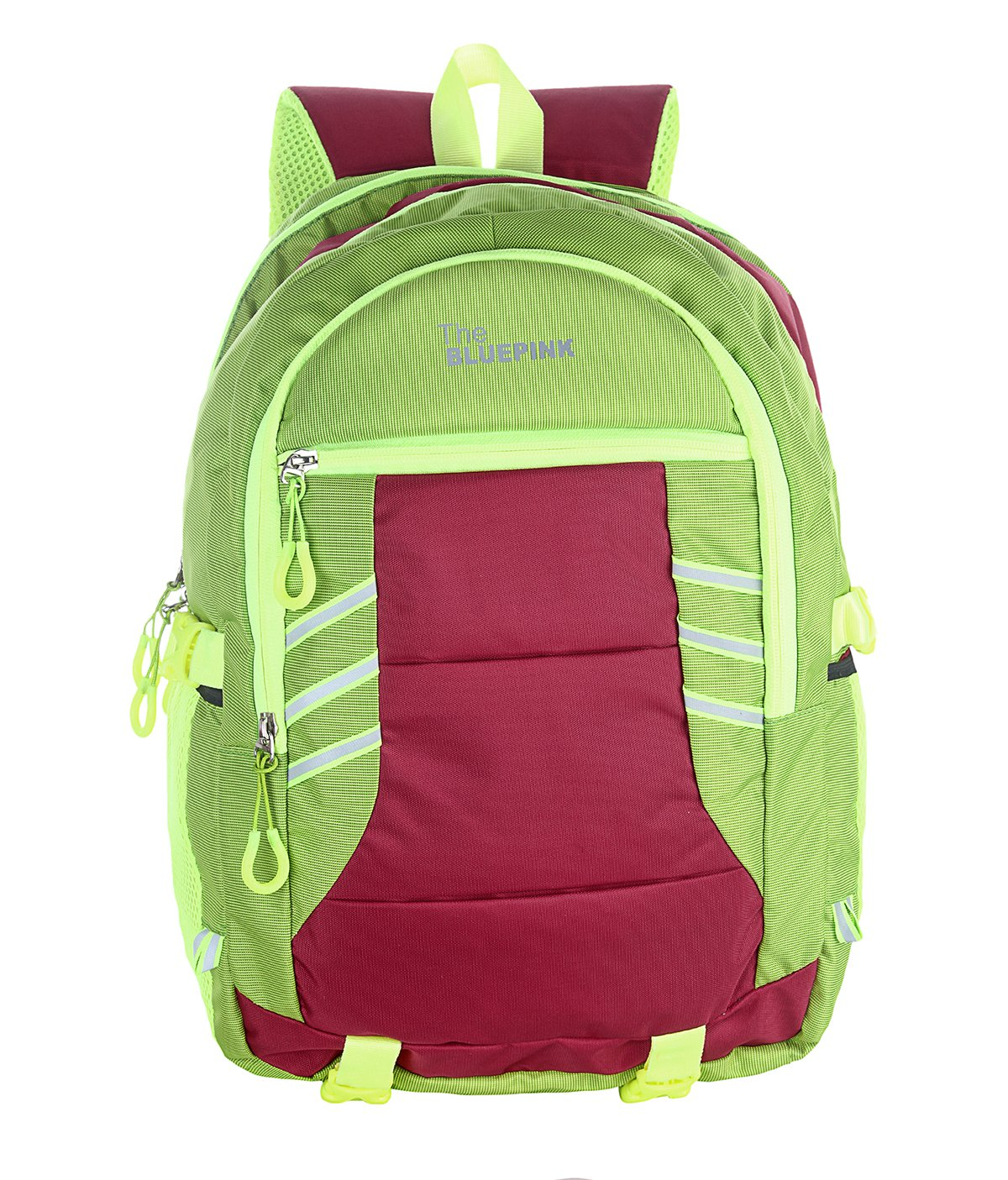 Dussledorf Brad Green Casual Backpack With Adjustable Strap And Laptop Compartment (BRAD-1114)