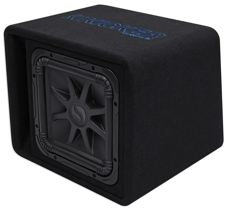 "Amazon.com: Kicker VL7S122 L7S 12"" Subwoofer in Vented Enclosure 2-Ohm: Car  Electronics"