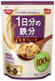 日清シスコ 1日分の鉄分玄米フレーク 180g×6袋