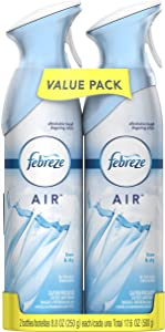 Febreze Air Effects Air Freshener Linen and Sky 8.8 Ounce 2 Pack