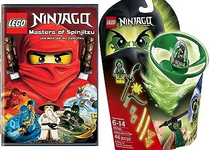 Amazon.com: LEGO Ninjago Airjitzu Moro Spin Flyer & Lego ...