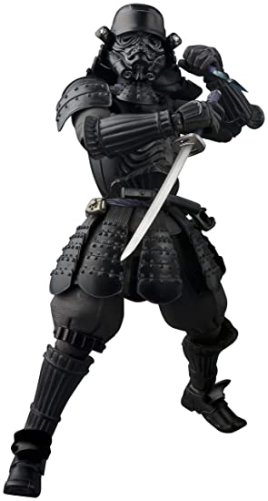 BANDAI- Shadow Trooper Onmitsu Ninja Figura articulada (BDISW052005)