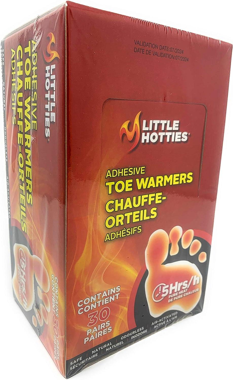 Little Hotties Adhesive Toe Warmers, 30 Pairs