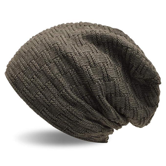 UPhitnis Berretti in Maglia Berretto Invernale Uomo Donna con Lana - Beanie  Hat Elastico Morbido di Modello Tessitura  Amazon.it  Abbigliamento 3f53bdf6a6fd