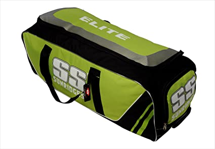 20126fd8e Image Unavailable. Image not available for. Colour  SS Elite Wheel Cricket  Kit Bag ...