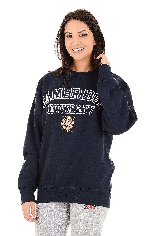 AAES01 Cambridge University Official Licensed Applique Embroidered Souvenir Premium Quality Sweatshirt Jumper