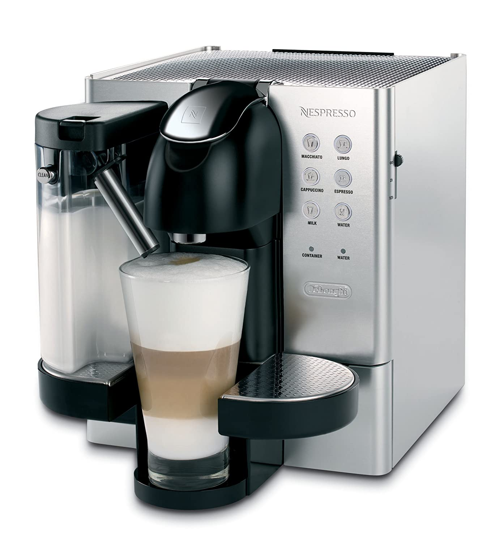 DeLonghi EN720.M Independiente Totalmente automática Máquina de café en cápsulas 1.2L Acero inoxidable - Cafetera (Independiente, Máquina de café en ...