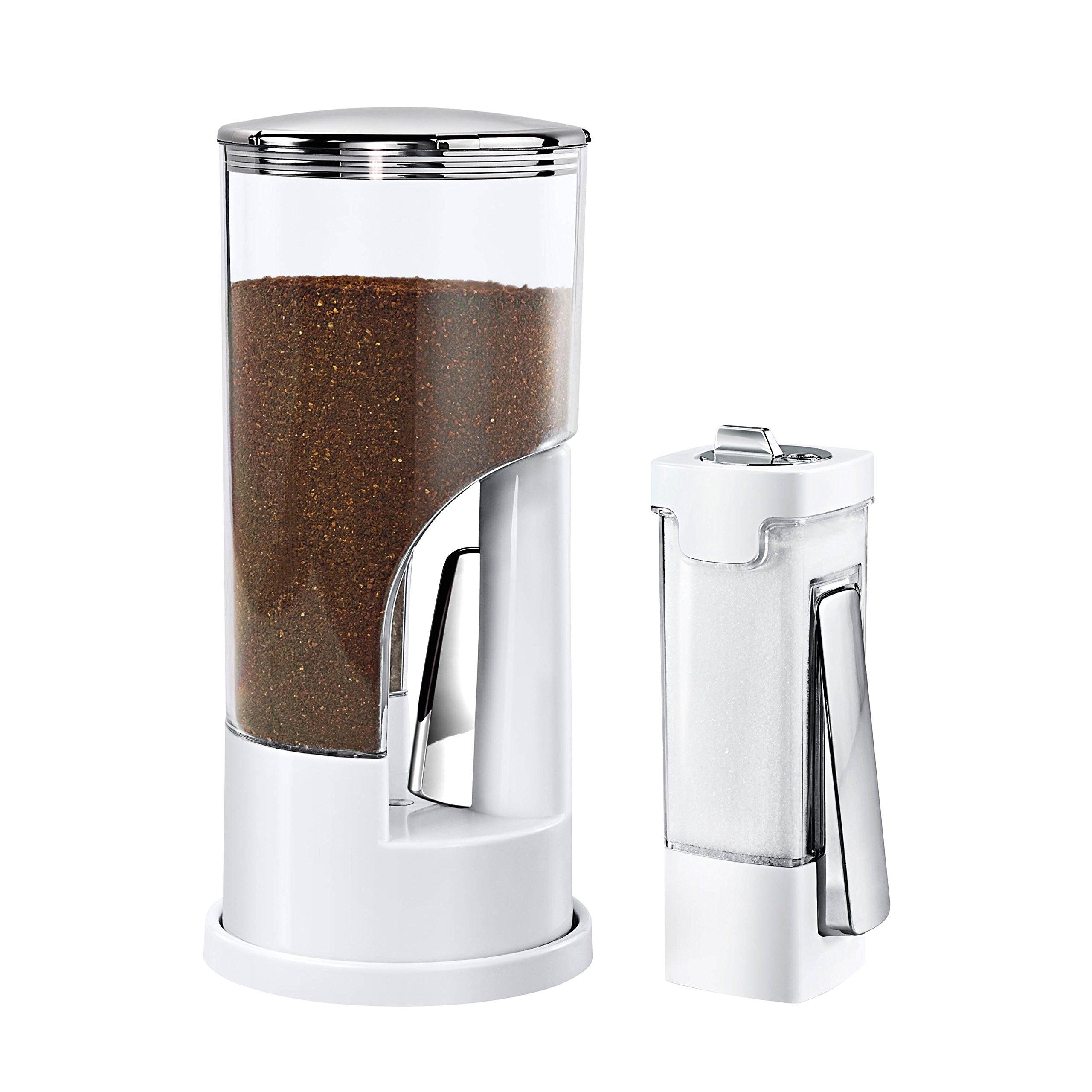 Honey-Can-Do KCHX06081 Coffee Dispenser & Sugar Dispenser Set