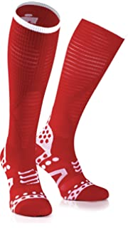 Compressport Ultralight Racing Full Socks Ironman Edition Red 2017 Unidad Calcetines