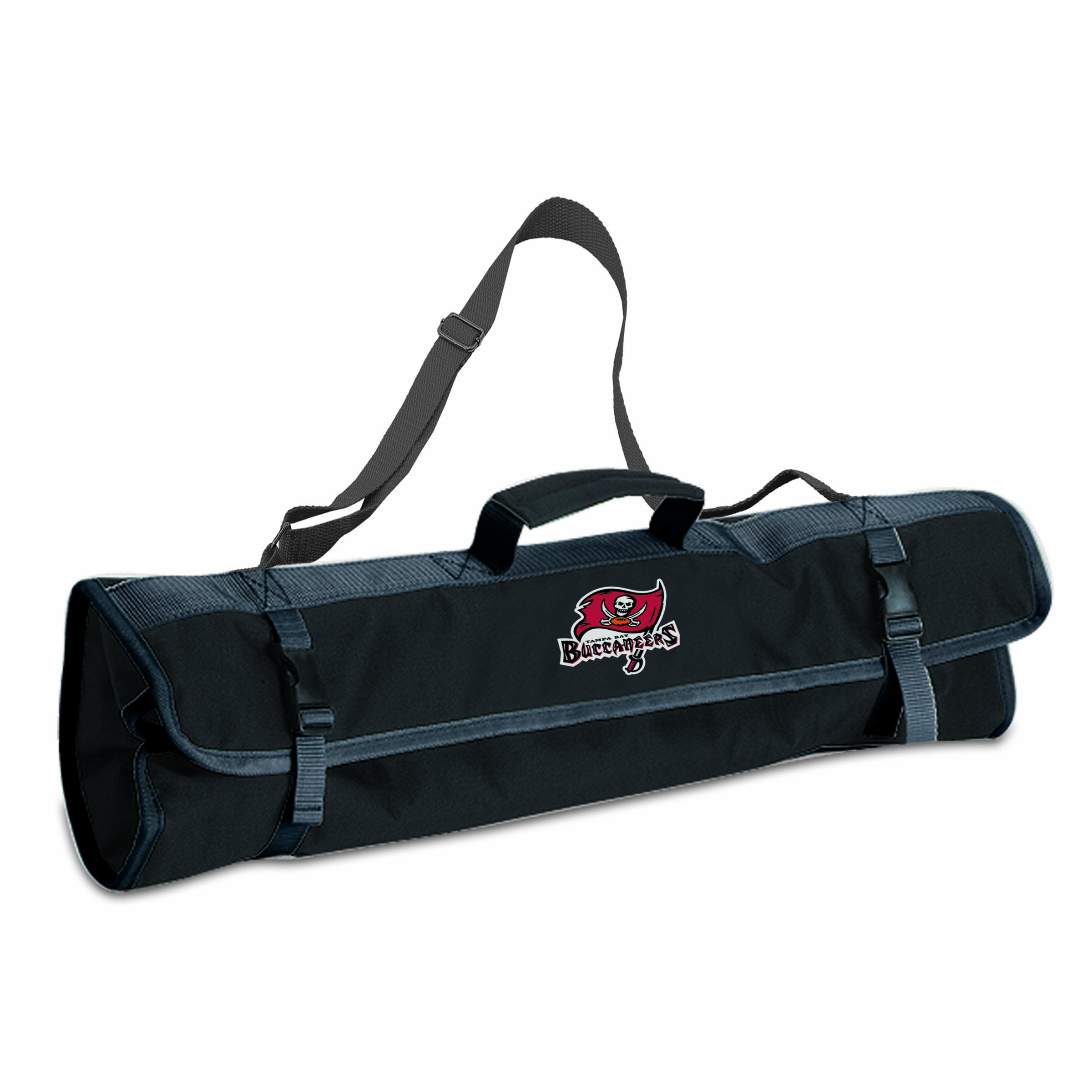 PICNIC TIME NFL Tampa Bay Buccaneers 3-Piece BBQ Tool Tote