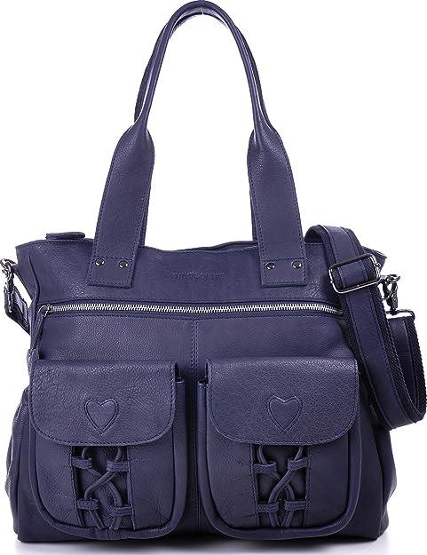 Phil + Sophie, CNTMP - mujer xl bolsas de pañales de cuero, bolsos,