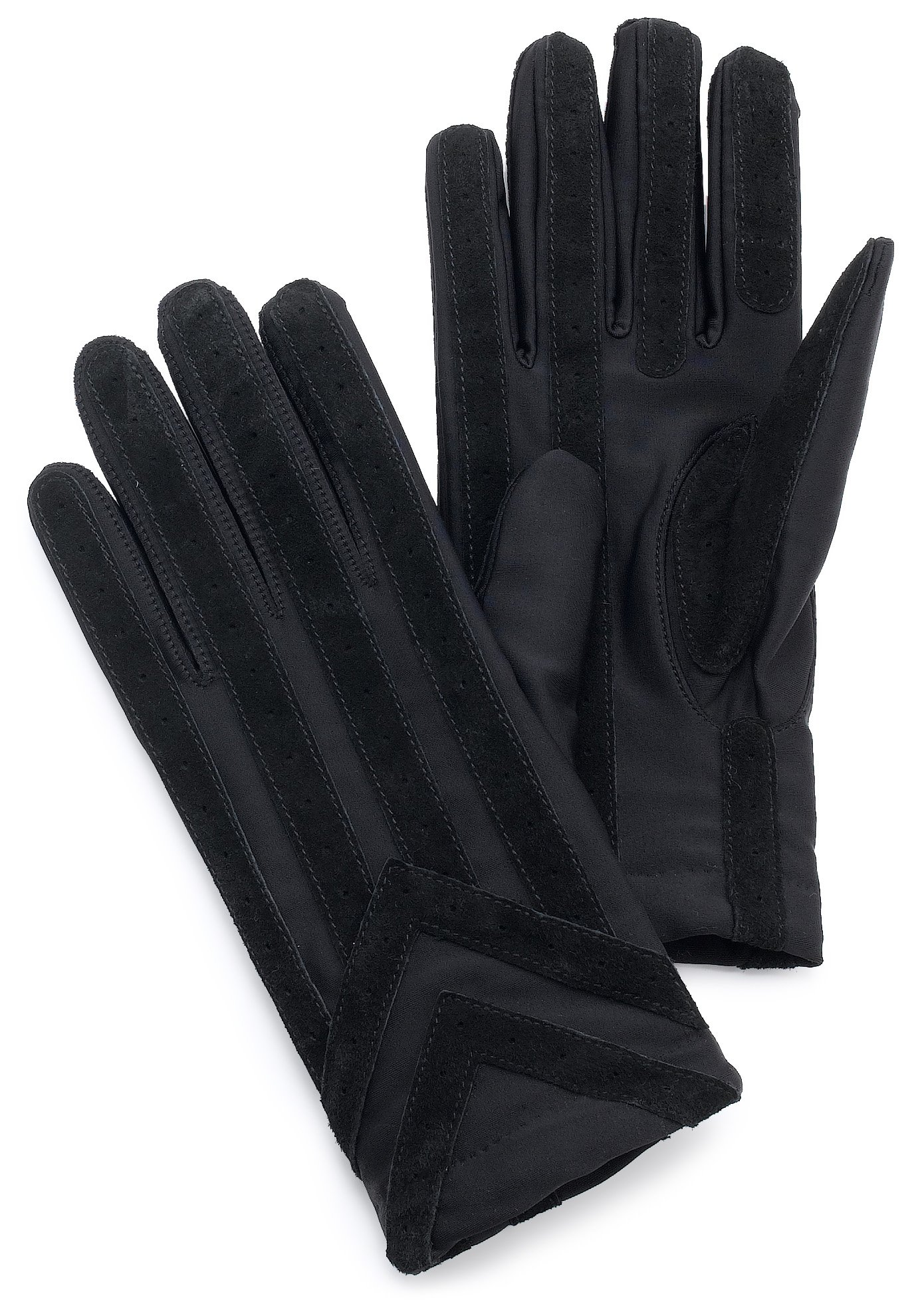 isotoner Signature Men's Spandex Stretch Cold Weather Gloves with Warm Knit Lining