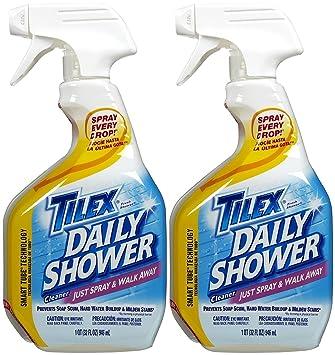 amazon com tilex shower spray 32 oz 2 pk health personal care rh amazon com