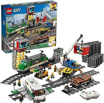 Oferta amazon: LEGO City - Tren De Mercancías (60198)