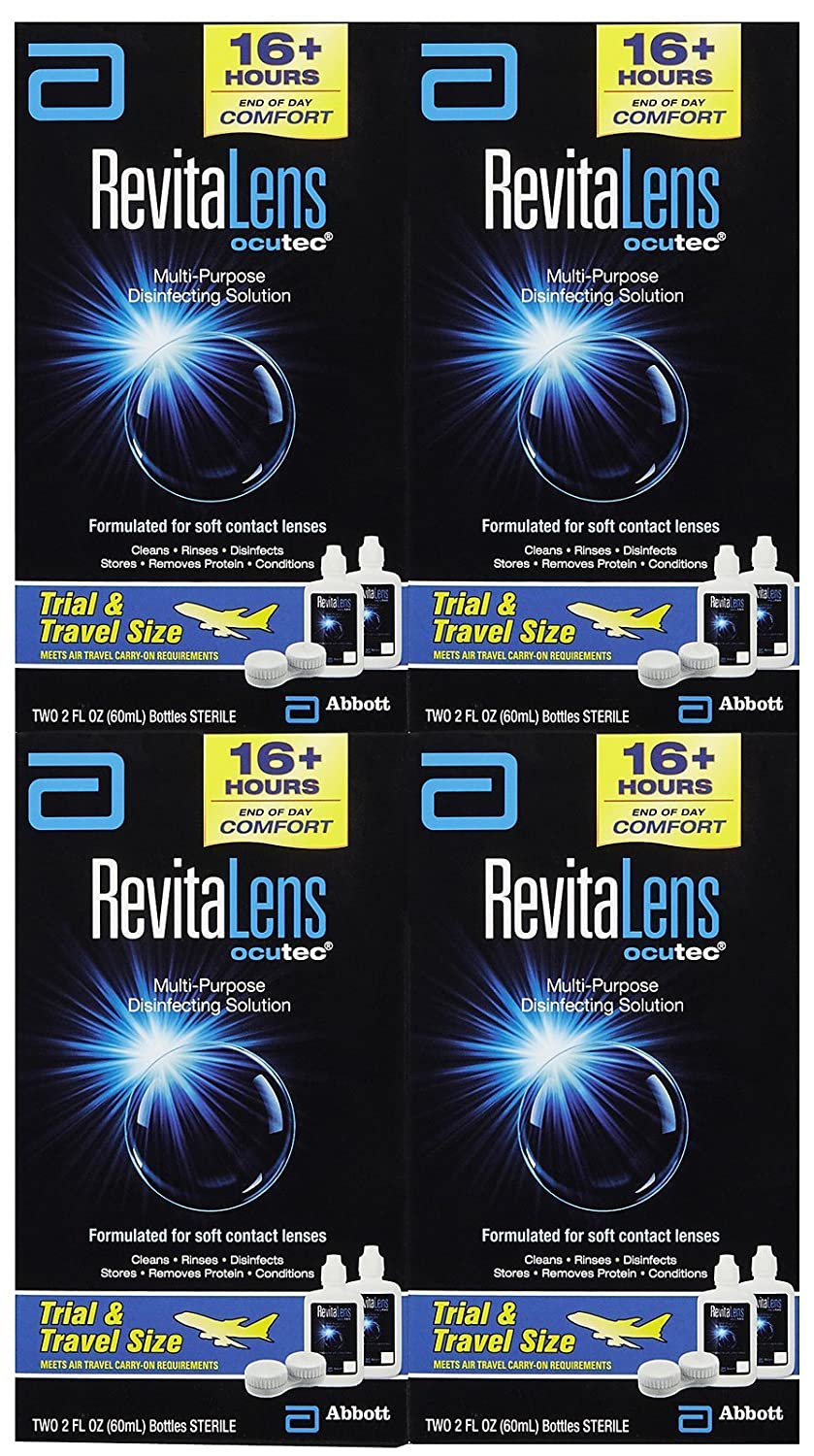 RevitaLens Multipurpose Solution and Lens Case - 2 oz - 4 ct Quidsi OMA-008B