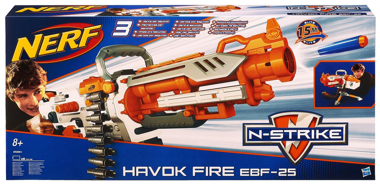 Nerf N-Strike Havok Fire EBF-25 Dart Blaster B00HOINTYU