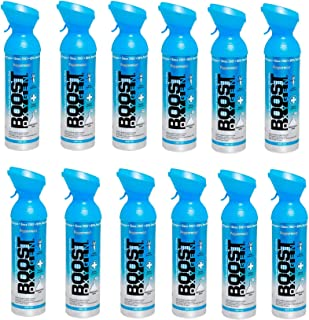 product image for Boost Oxygen Portable 10 Liter Canned Oxygen Canister, Peppermint (12 Pack)