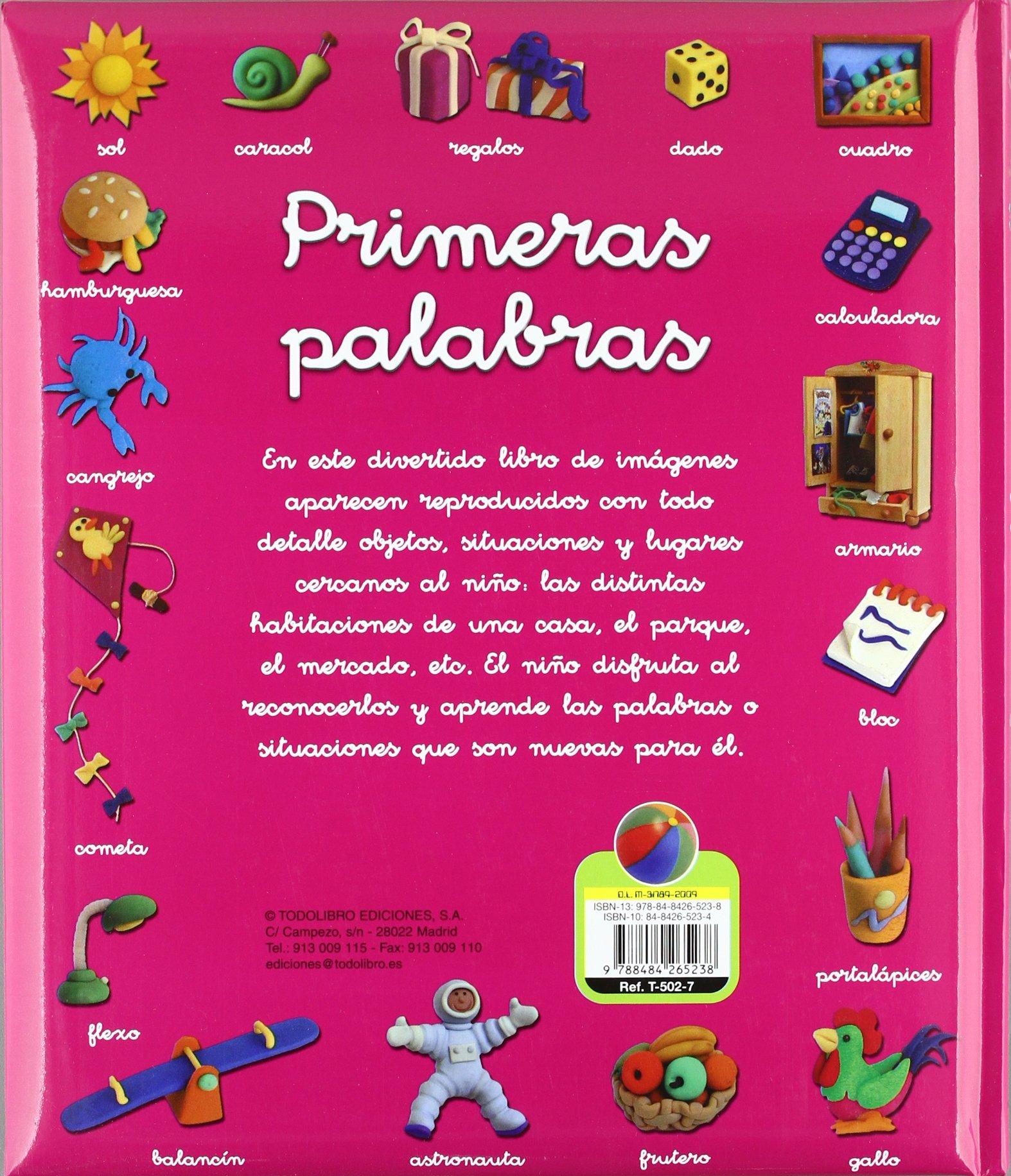 Primeras palabras (Cosas de Niños) (Spanish Edition): Manuela Martin: 9788484265238: Amazon.com: Books