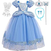 Romy's Collection Princess Blue Cinderella Costume Party Dress-up Set