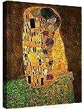 Eliteart-The Kiss by Gustav Klimt Giclee Art Canvas Prints