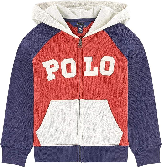 Black Polo Ralph Lauren Boys Fleece Vest Size 5