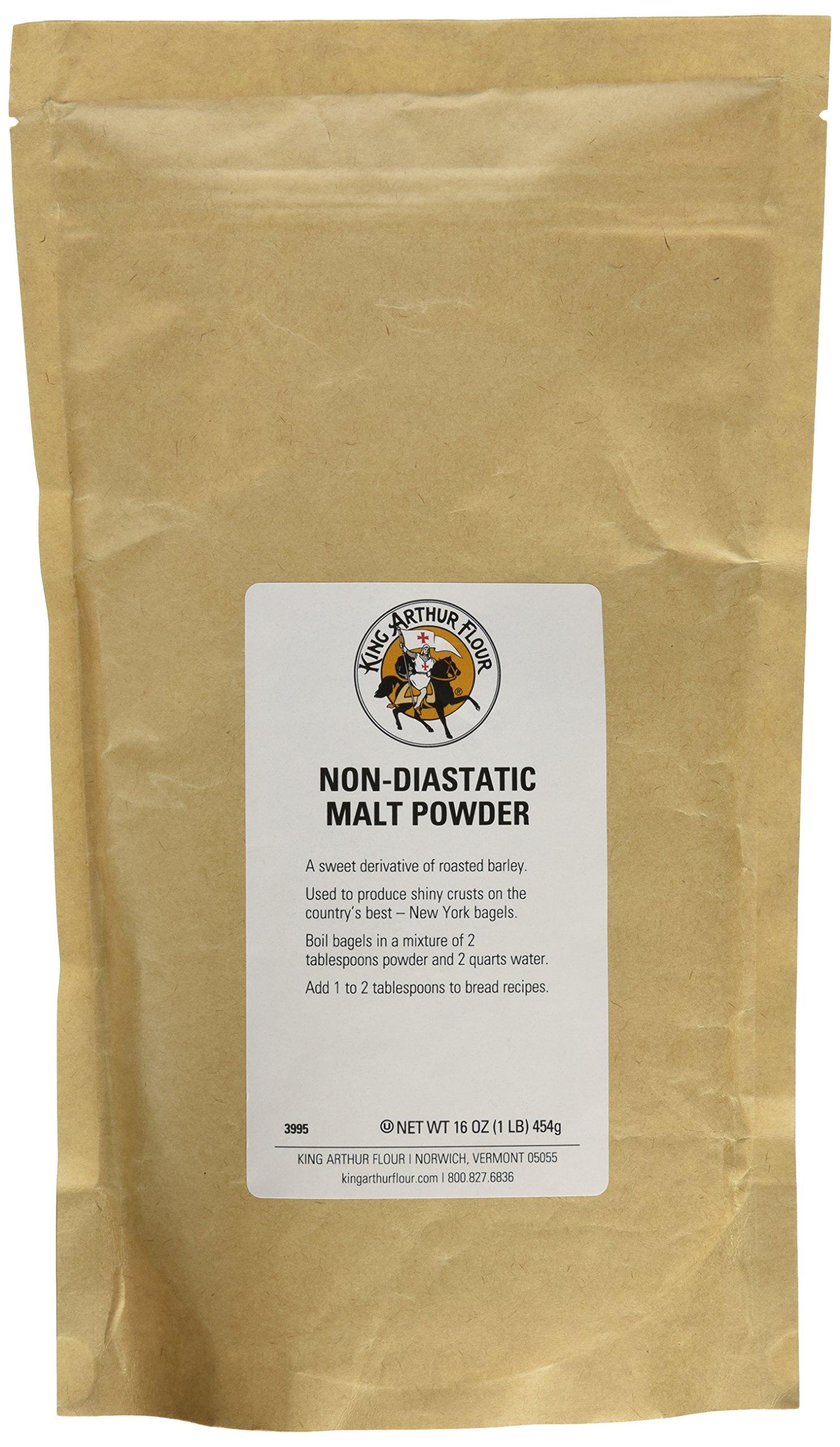 Non-diastatic malt powder