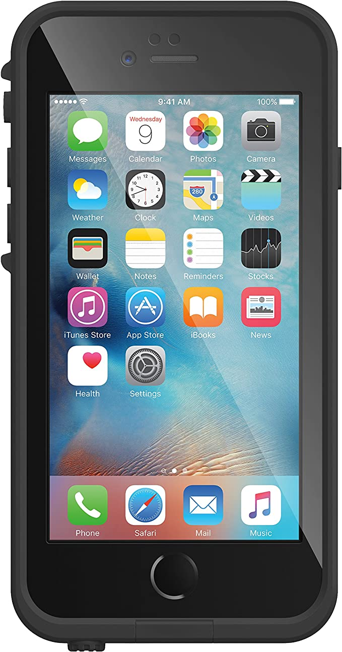 Lifeproof Fré Wasserdichte Schutzhülle Für Apple Iphone 6 6s Schwarz Lifeproof Elektronik