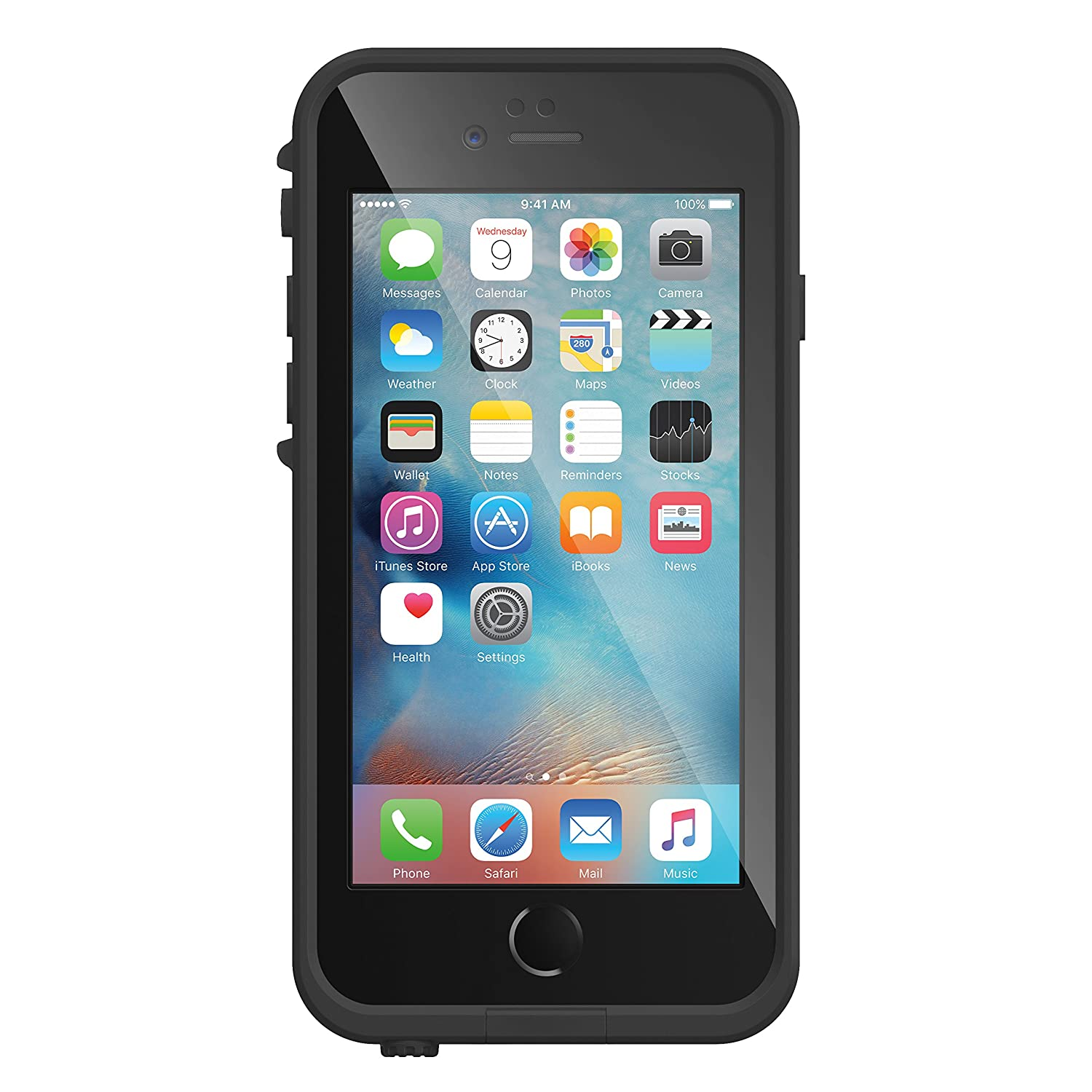 e1b9c4bbd41 Amazon.com: Lifeproof FRĒ SERIES iPhone 6/6s Waterproof Case (4.7