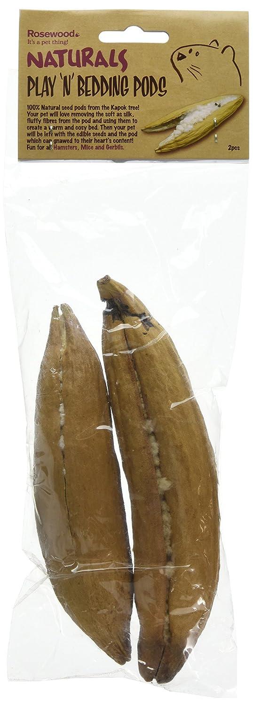 Rosewood Pack de 2 Naturals Soft 'n' Safe Cosse pour Litière 19494