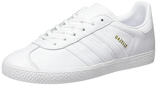 info for e2797 a170e adidas Gazelle, Scarpe da Ginnastica Basse Unisex-Bambini, Bianco Footwear  White, 36