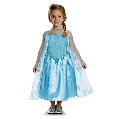 Elsa Toddler Classic Costume, Medium (3T-4T): Toys & Games