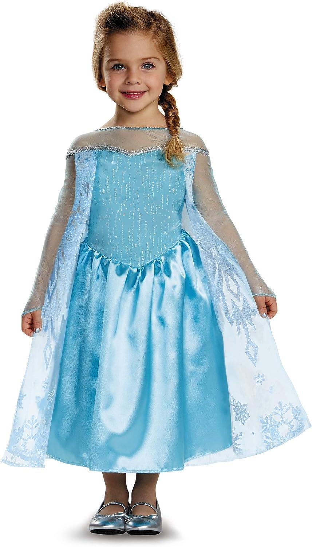 Amazon.com: Disfraz de Elsa clásico para niñas ...