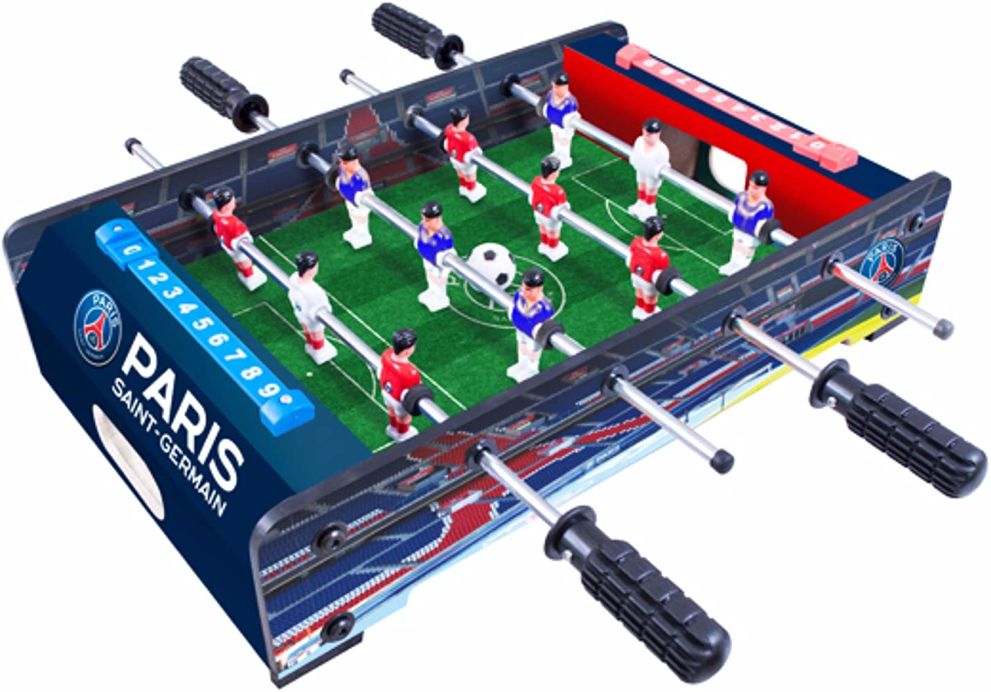 Paris Saint Germain FC - Futbolín de mesa (Talla Única/Multicolor): Amazon.es: Ropa y accesorios