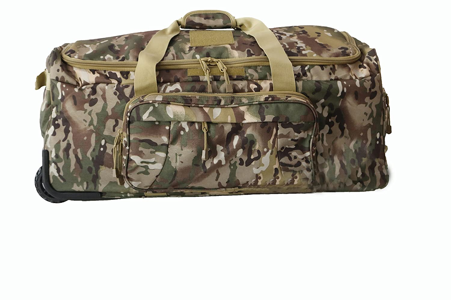 Armycamousa Military Duffle Bag With Wheels