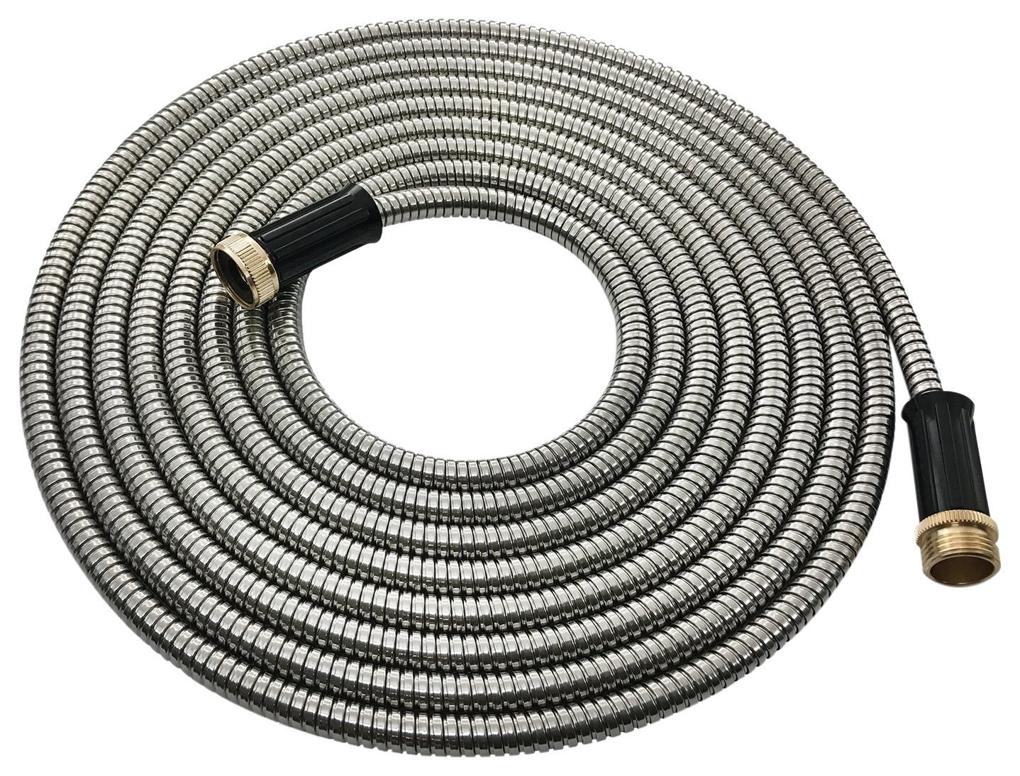 25 Ft Stainless Steel Garden Hose – Lightweight Hose Hero Metal Hose Water Hose