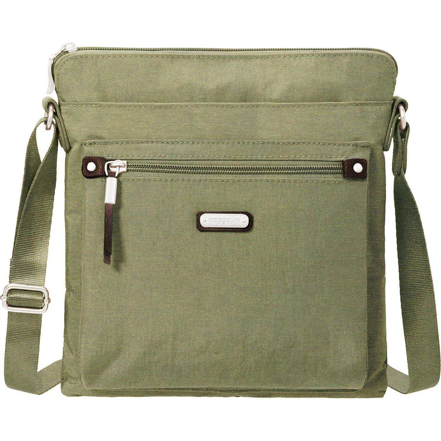 Baggallini Go Bagg with RFID Phone Wristlet (Olive)