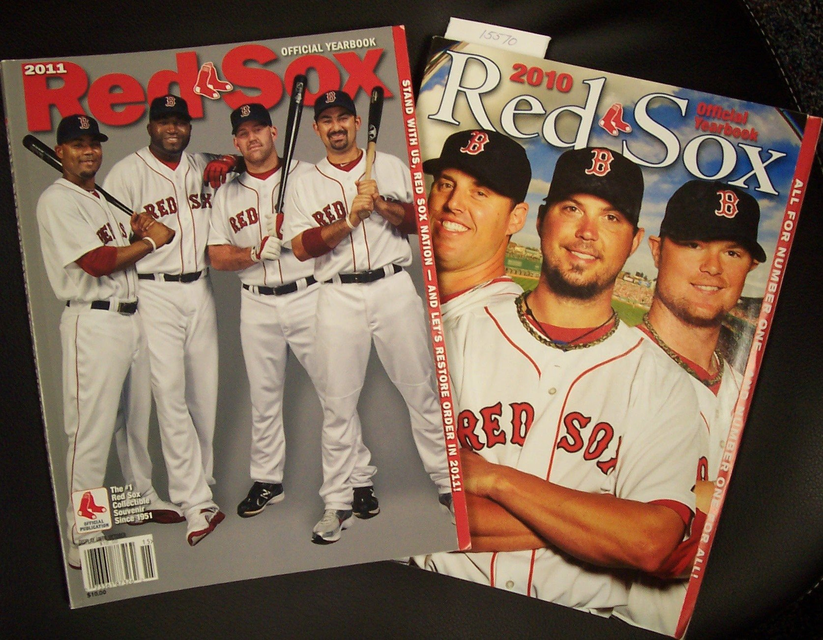 37ee1f53b 2011 Boston Red Sox Official Yearbook Adrian Gonzalez