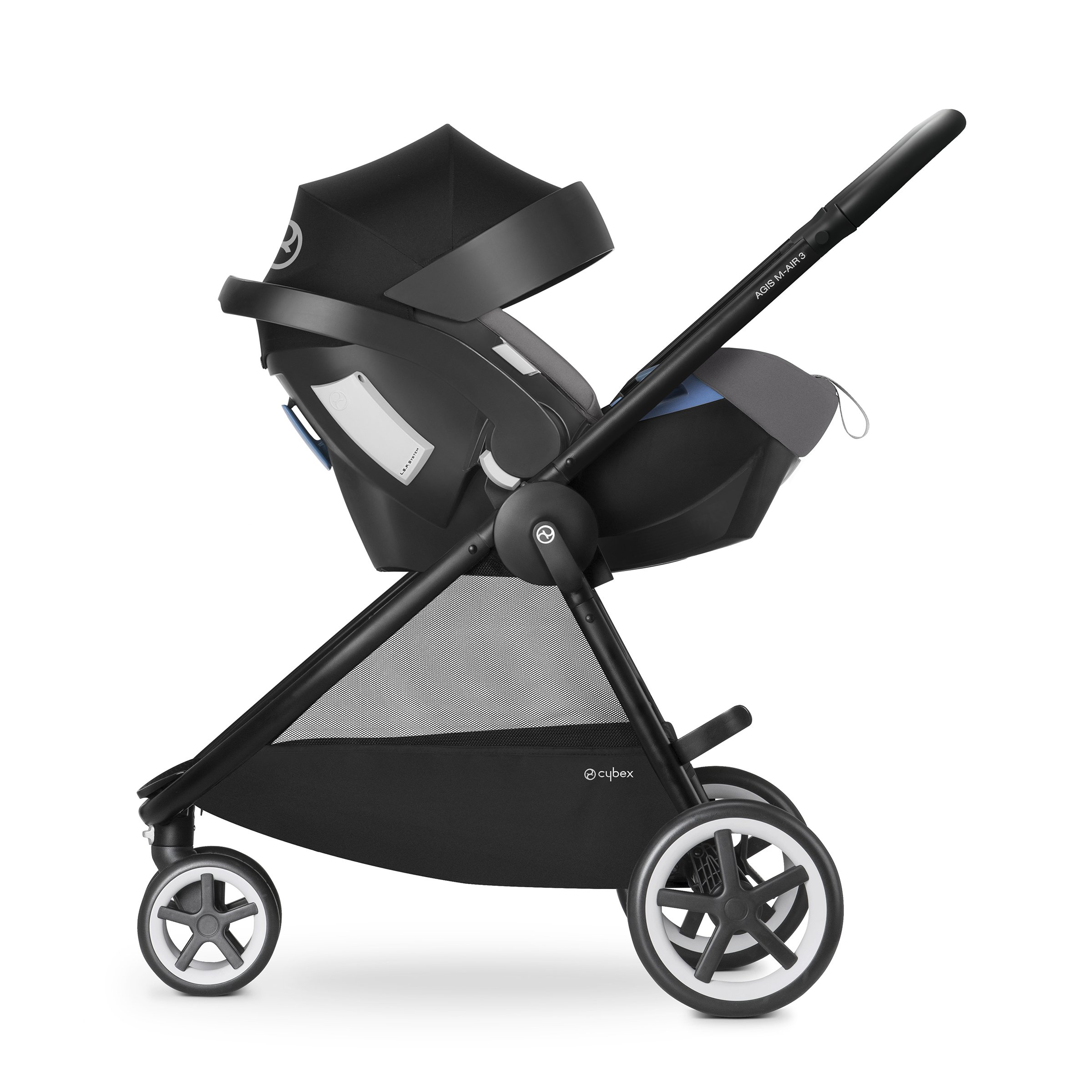 Cybex Agis M-Air 3/Aton/Aton Base Travel System, Moon Dust by Cybex (Image #2)
