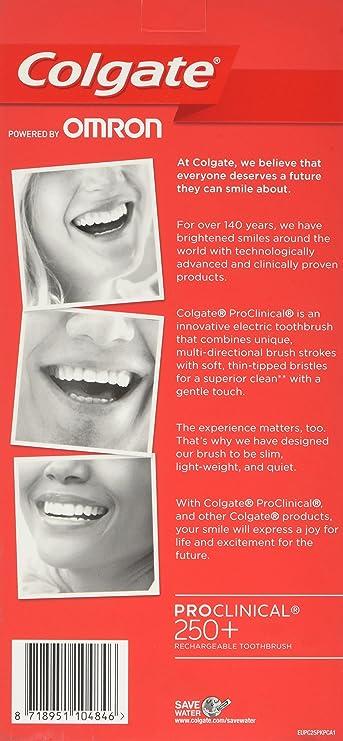 Cepillo de dientes eléctrico Colgate ProClinical 08be883766b7