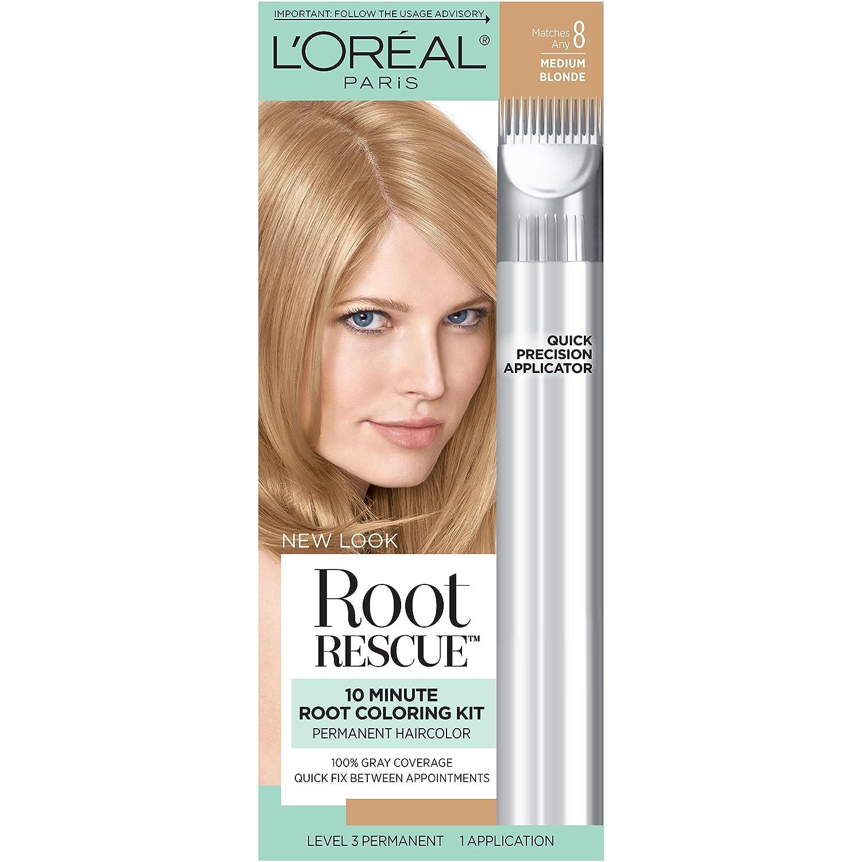 Loral Paris Root Rescue Hair Color 2 Natural Black Loreal Paris