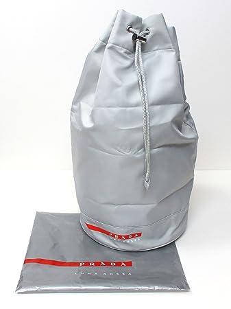 257b535d23e2 Amazon.com : Prada Luna Rossa Bag Sailing Drawstring Bag : Cosmetic Tote  Bags : Beauty