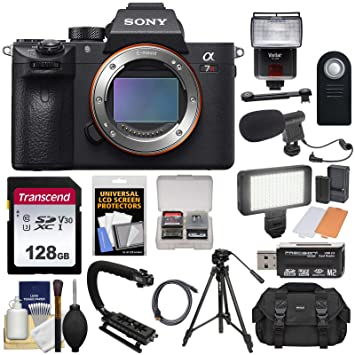 Amazon.com: Sony Alpha a7R III 4 K WiFi Digital Cuerpo de la ...