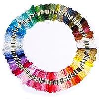 150 échevettes de fil multicolore pour point de croix broderie