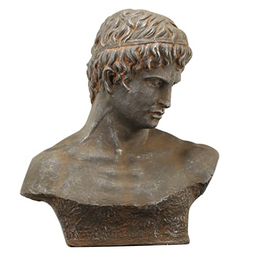 A B Home Atticus Bust Sculpture, 19 by 9 by 22.5-Inch